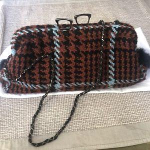 Handbags - Maria La Rosa tweed purse